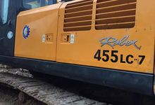 急售二手现代挖机455LC-7